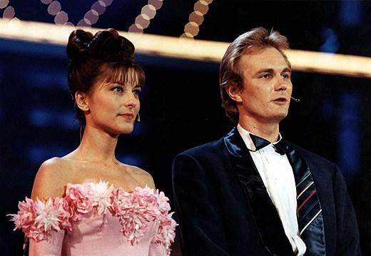 Harald Treutiger e Lydia Capolicchio