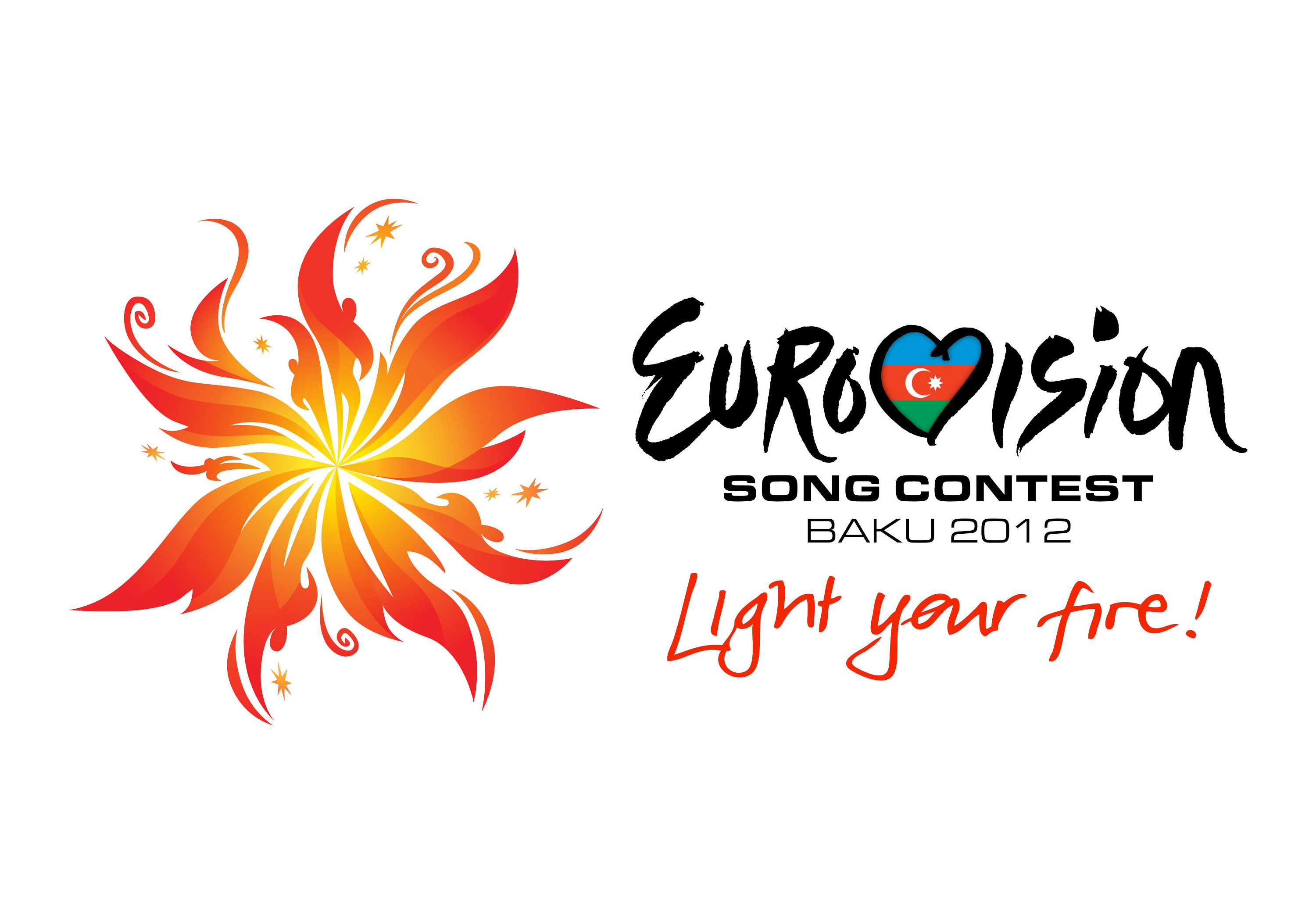 Logo ESC 2012 - Light your fire!