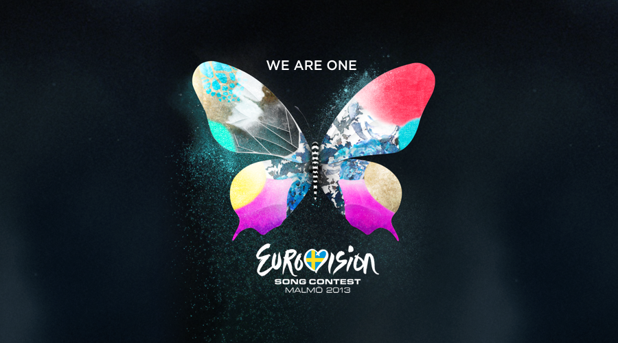 Logo ESC 2013 - We are one