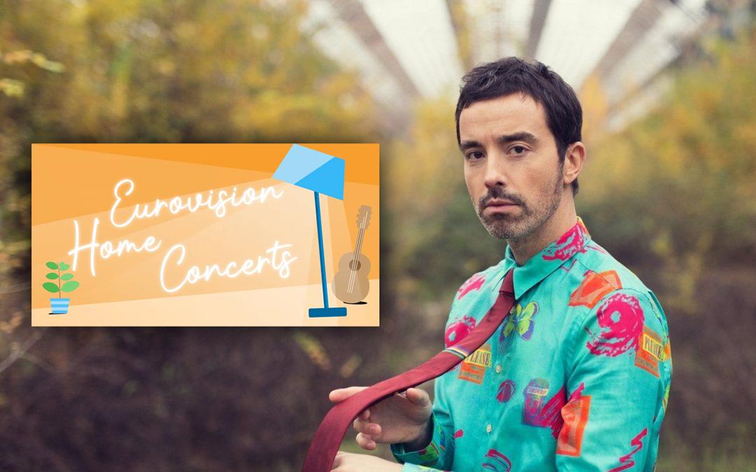 Diodato nell'ultimo episodio di Eurovision Home Concerts
