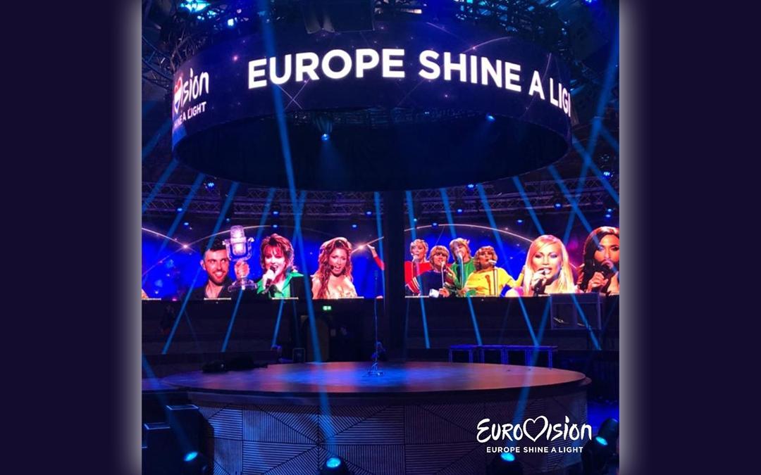 Eurovision: Europe Shine A Light – La scenografia dello show
