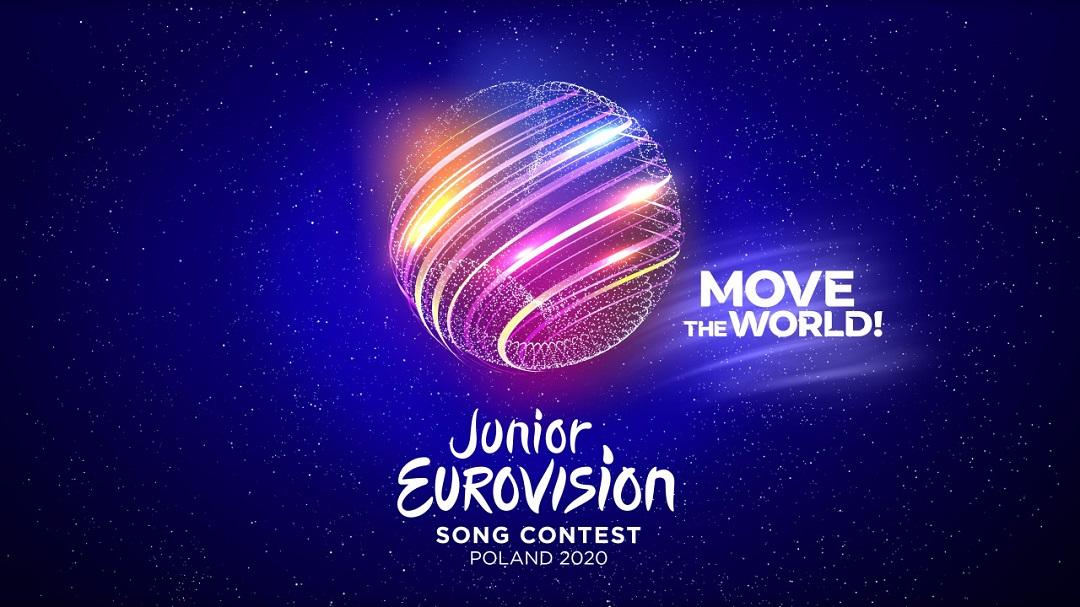 #MoveTheWorld – Slogan e Logo dello Junior Eurovision 2020