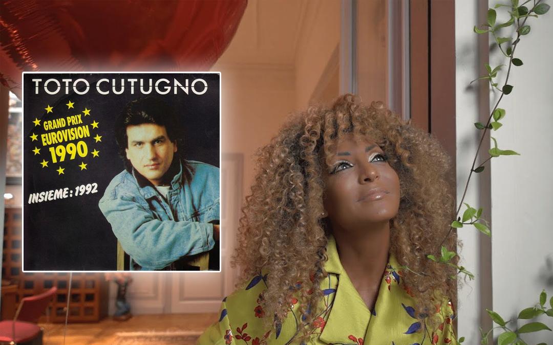 """Senhit celebra i 30 anni di """"Insieme 1992"""" di Toto Cutugno"""