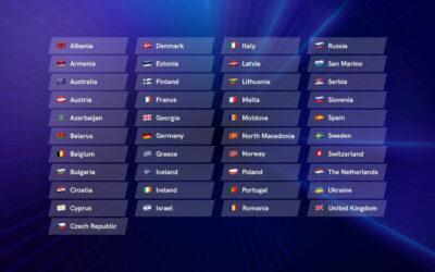 Eurovision Song Contest 2021: 41 Paesi in gara a Rotterdam!
