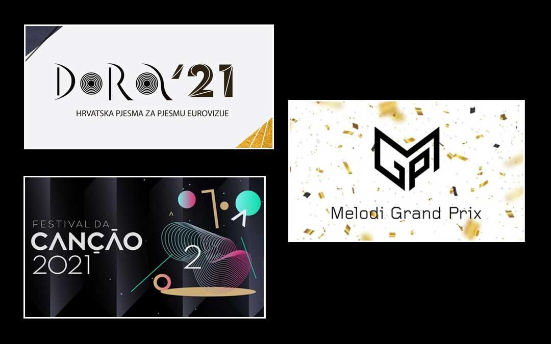 Eurovision 2021: le selezioni di Croazia, Norvegia e Portogallo