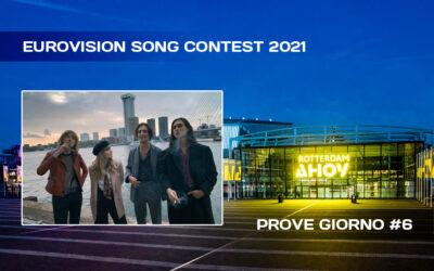 Eurovision Song Contest 2021: oggi la prima prova dei Måneskin