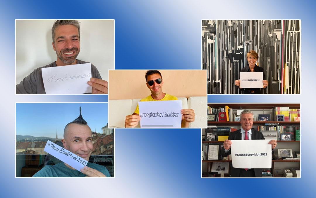 #TorinoEurovision2022: i supporter della candidatura di Torino